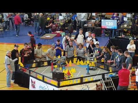 VEX In The Zone Ohio State Championship SF 2-1 2011F 1344A vs 6403A 6403B