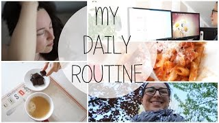 La mia routine giornaliera