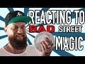 REACTING TO BAD STREET MAGIC!! (CRINGEFEST)