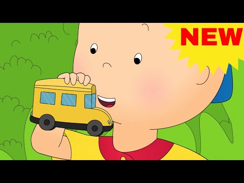 CAILLOU RIDES THE SCHOOL BUS | NEW Funny Animated cartoons K