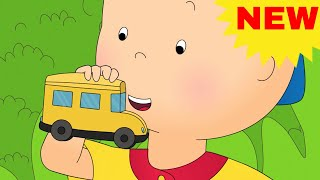 CAILLOU RIDES THE SCHOOL BUS | NEW Funny Animated cartoons Kid | WATCH ONLINE | Cartoon for Children