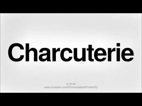 How To Pronounce Charcuterie | Pronunciation Primer HD