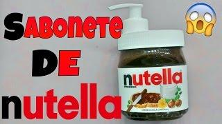 DIY: SABONETE DE NUTELLA