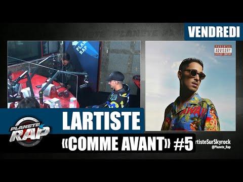 Youtube: Planète Rap – Lartiste«Comme Avant» avec Bramo L'épicier, Sheyrine et Wiiihem #Vendredi
