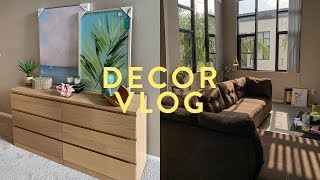 VLOG: Decorating My Apartment! | Asia Jackson