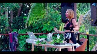 Female DJ mixing female vocalist Lotus Imane (Ibiza) in Thailand