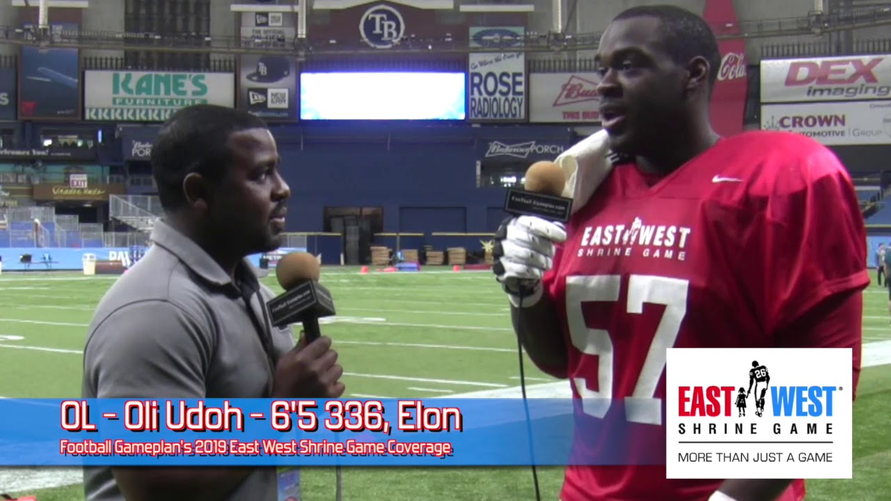 release info on cfa4d 9a9d8 2019 East West Shrine Game Prospect Interview: Oli Udoh, Elon