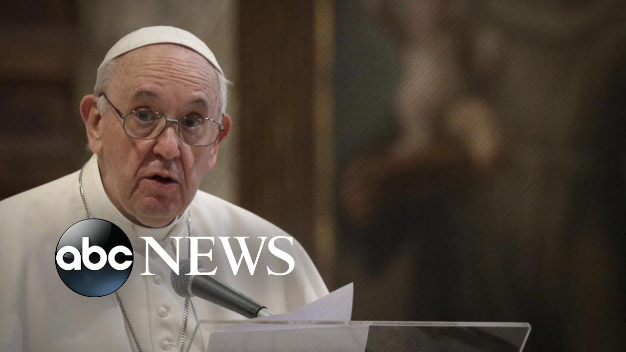 Pope Francis becomes first pope to endorse civil unions for gay couples | ABC News
