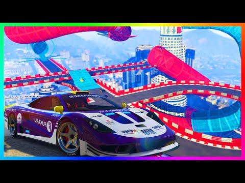"GTA 5 DLC $50,000,000 ""CUNNING STUNTS"" SPENDING SPREE, BUYING ALL NEW CARS & INSANE STUNT RACES!"
