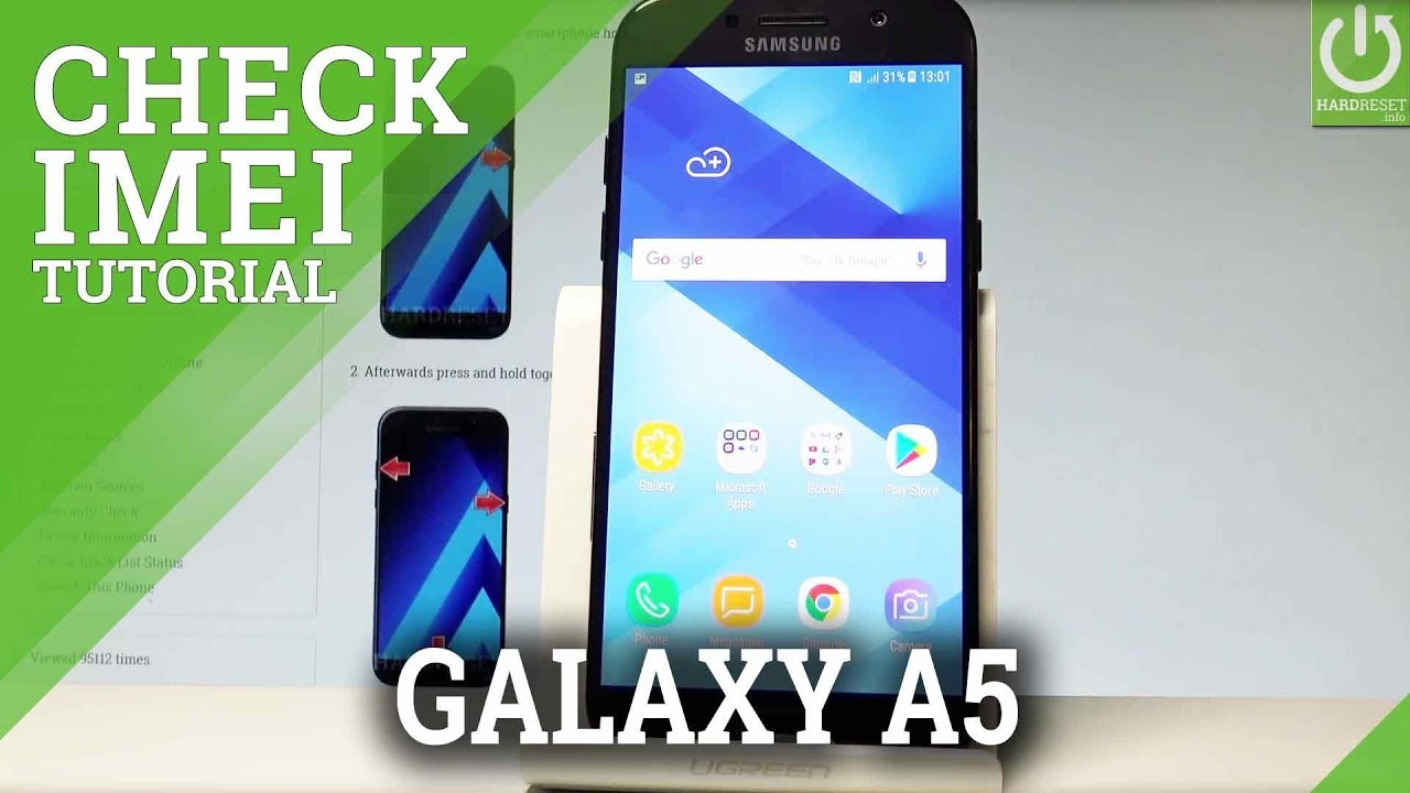SAMSUNG Galaxy A5 (2017) CHECK IMEI / IMEI Information