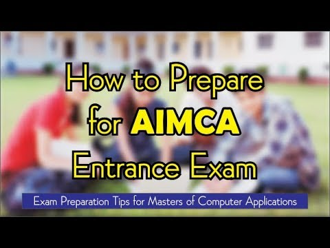 How to prepare- AIMCA ( NIMCET,JNU..)-Crack in First attempt ..