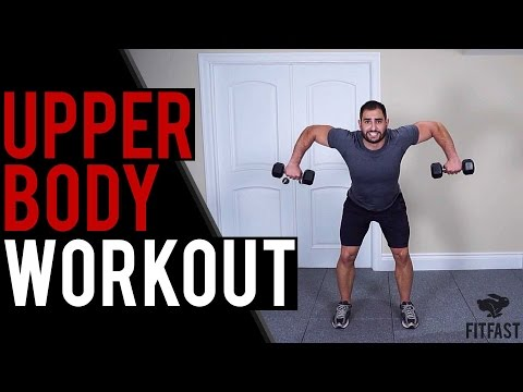 Total Upper Body Dumbbell Home Workout | Get Chiseled Arms, Chest, Shoulders & Upper Back