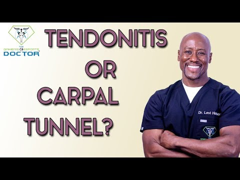 Is It Carpal Tunnel Syndrome OR Tendonitis?