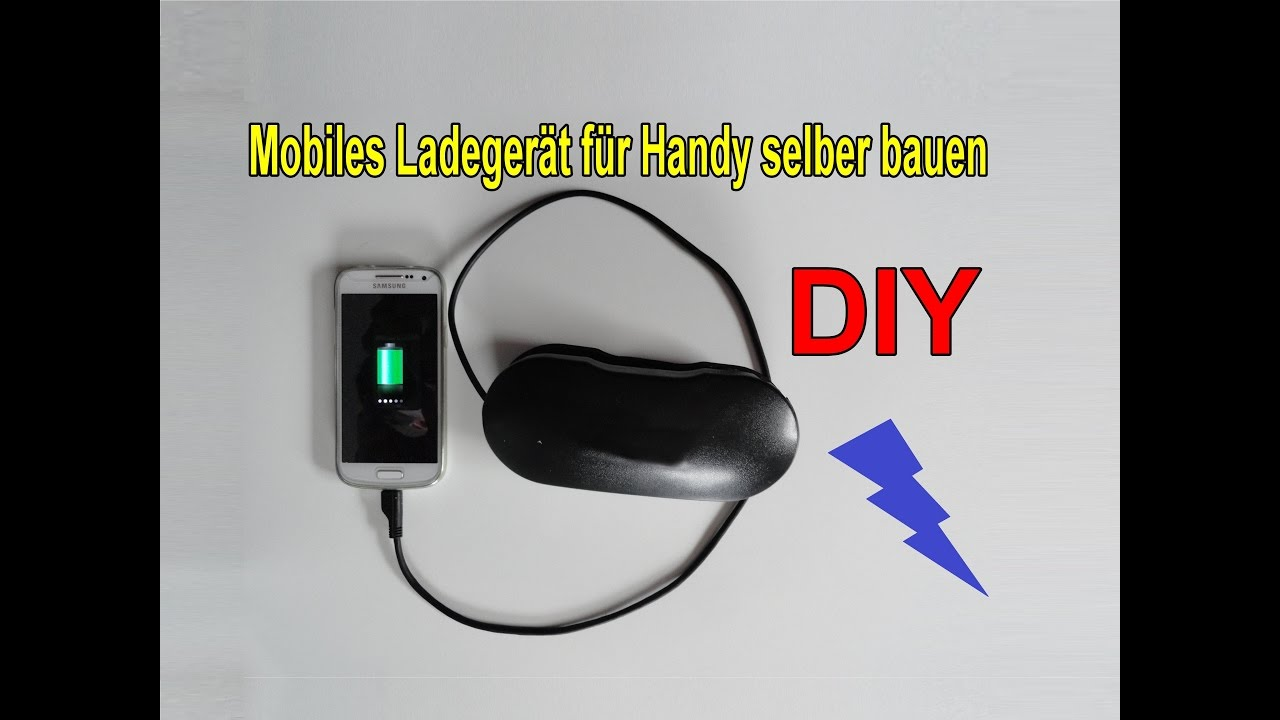 Mobile Handy Ladestation Selber Machen Diy Smartphone - Mobile Ladestation Handy