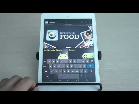 Allwinner A31s Tablet Running Android 4.2 Jelly Bean