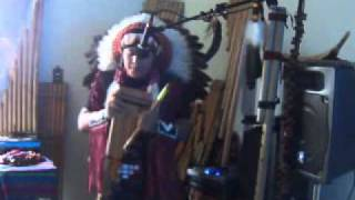 White Buffalo - Indian Meditation music -al vivo