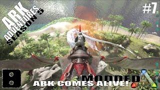 ARK Adventures Season 5 #7 - Alpha Wyvern vs. Power Pteranodon (UPDATED)