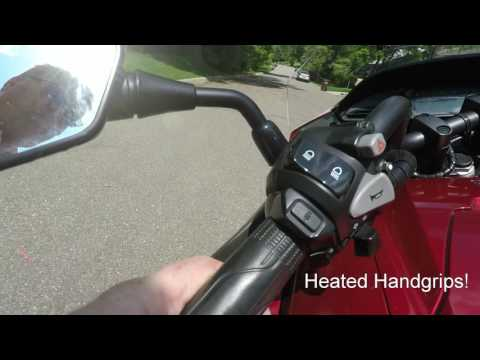Honda CTX700 tour and ride