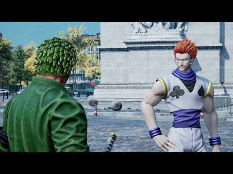 Jump Force - Zorro Vs. Hisoka Fight