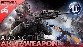 Hinzufügen Der AK-47-Waffe - #8 Erstellen Einer First-Person-Shooter (FPS) Mit der Unreal Engine 4