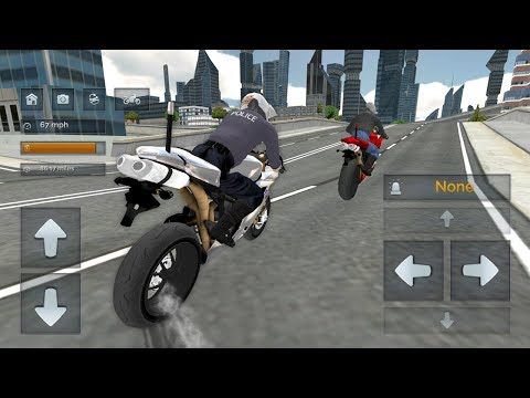 Police Motorbike Simulator 3D (by Game Pickle) Android Gameplay [HD]
