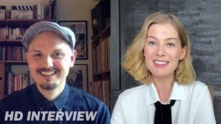 'i care a lot' director j blakeson and star rosamund pike talk about the original bold take on film, tackling subject matter that was disturbin...