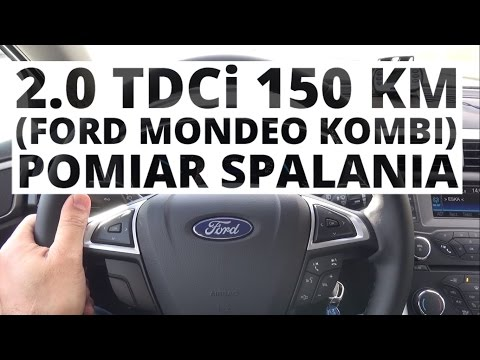 Ford Mondeo MK5 Kombi 2.0 TDCi 150 KM (MT)