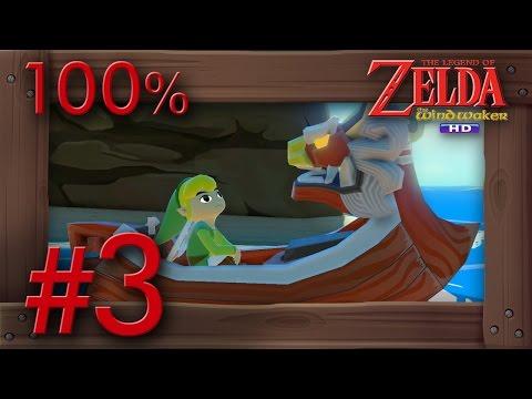 Zelda The Wind Waker HD 100% Walkthrough Part 3 | Windfall Island & Deluxe Picto Box Wii U