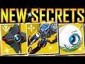 Destiny 2 - SECRET SYMBOLS! NEW LEAK! EXOTIC LOOT!