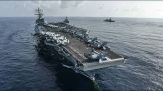 Helicopter Crashes On USS Ronald Reagan Flight Deck