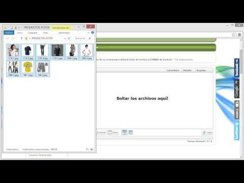 Subir Imagenes a Tienda Virtual - Multimedia Aplicada