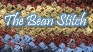 The Bean Stitch - Crochet Tutorial