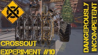 Crossout Experiment #10 Does the Lacerator Bonus Stack