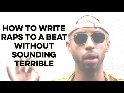 The BEST Time To WRITE YOUR RAPS To The Beat: How To Rap For Beginners
