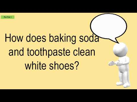 How Does Baking Soda And Toothpaste Clean White Shoes?