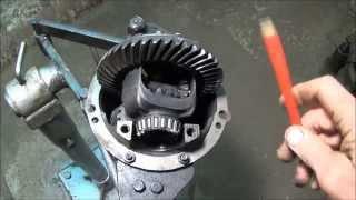 видео Редуктор заднего моста ВАЗ 2107,ремонт,регулировка (Видео)