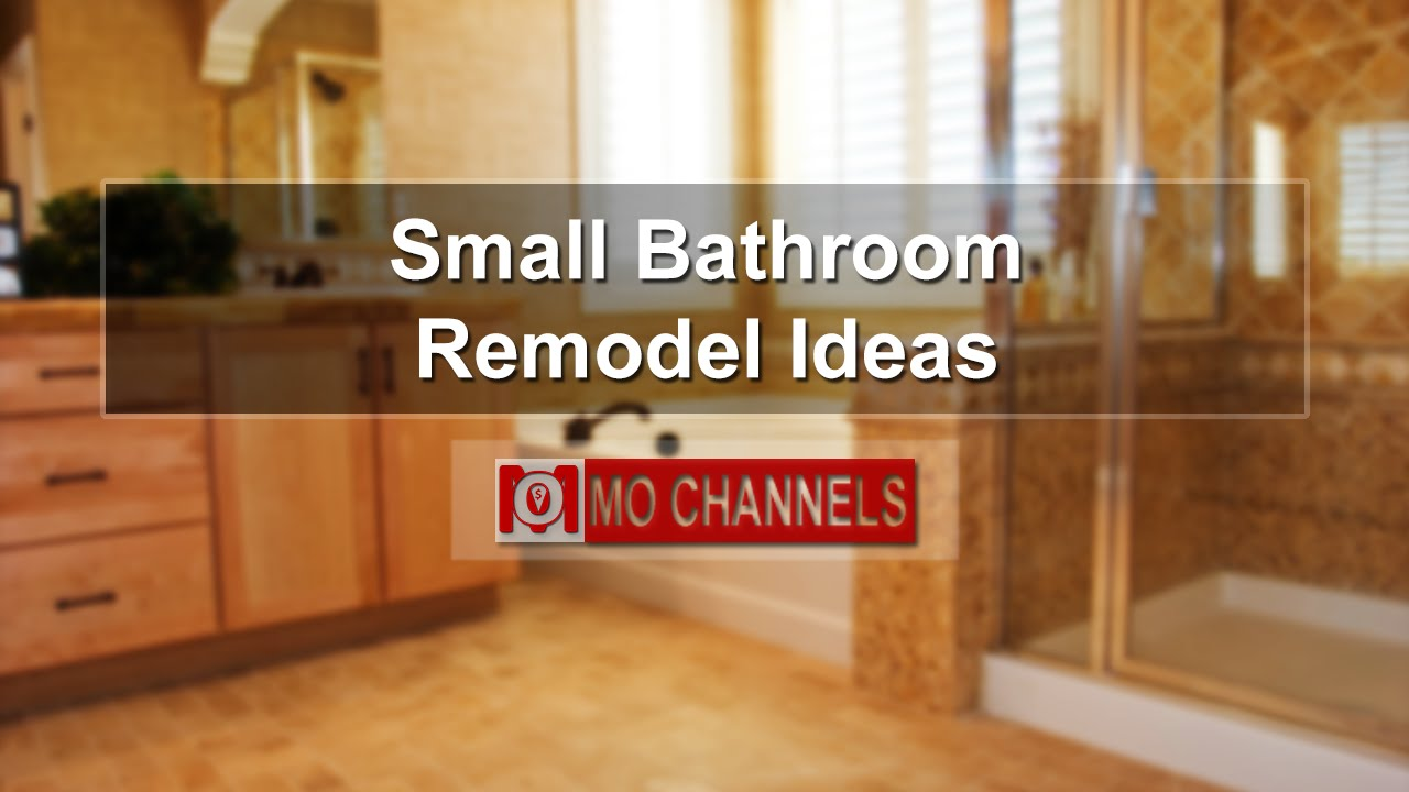 Bathroom Remodeling Ideas Youtube small bathroom remodel ideas - youtube
