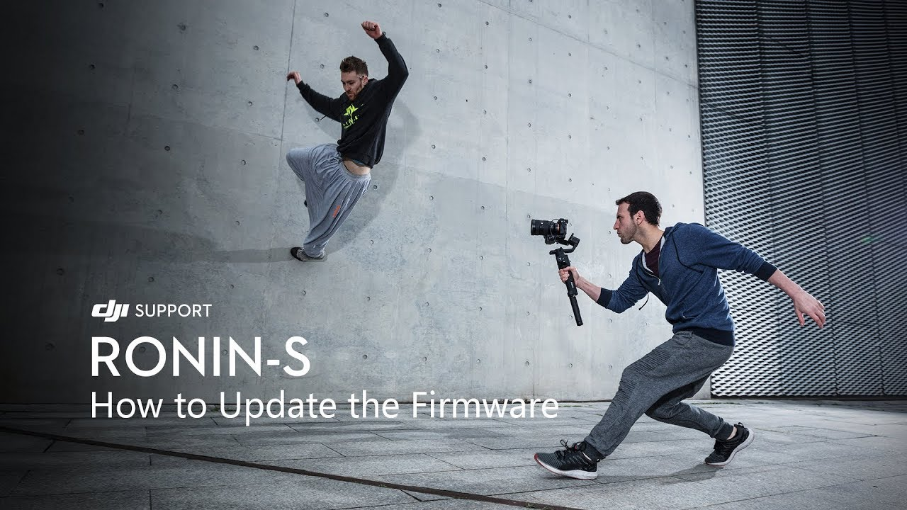 New Ronin-S Firmware Released(2018 09 20) | DJI FORUM