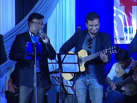 Judes (Jessica's Dad) sings at Tamil Mirror Gala 2014