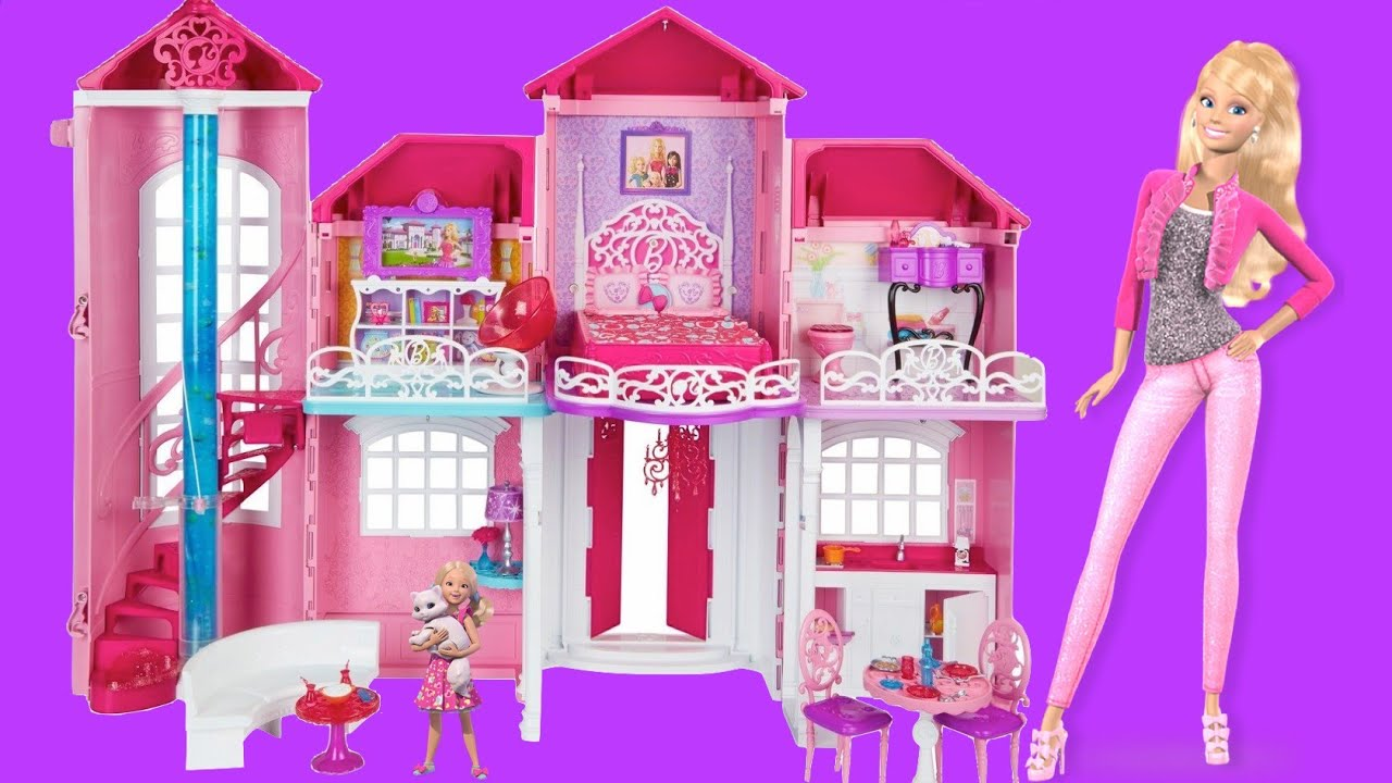 Baby Boy Bedroom Ideas Barbie Life In The Dreamhouse Barbie Malibu Dollhouse