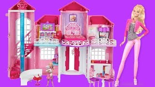Barbie Life In The Dreamhouse - Barbie Malibu Dollhouse バービー人形のおおきなおうち |thechildhoodlife