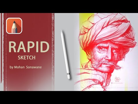 Rapid Sketch Tutorial | Time Lapse | by Mohan Sonawane thumbnail