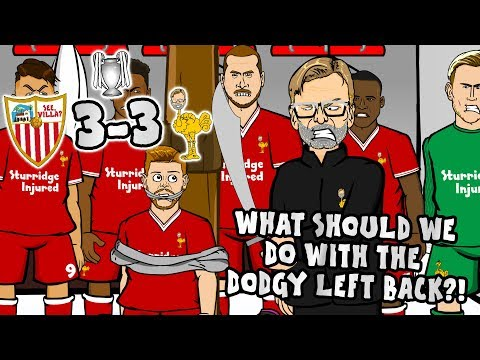 "Thumbnail: 😲3--3! SEVILLA vs LIVERPOOL😲""What should we do with the Dodgy Left Back?"""