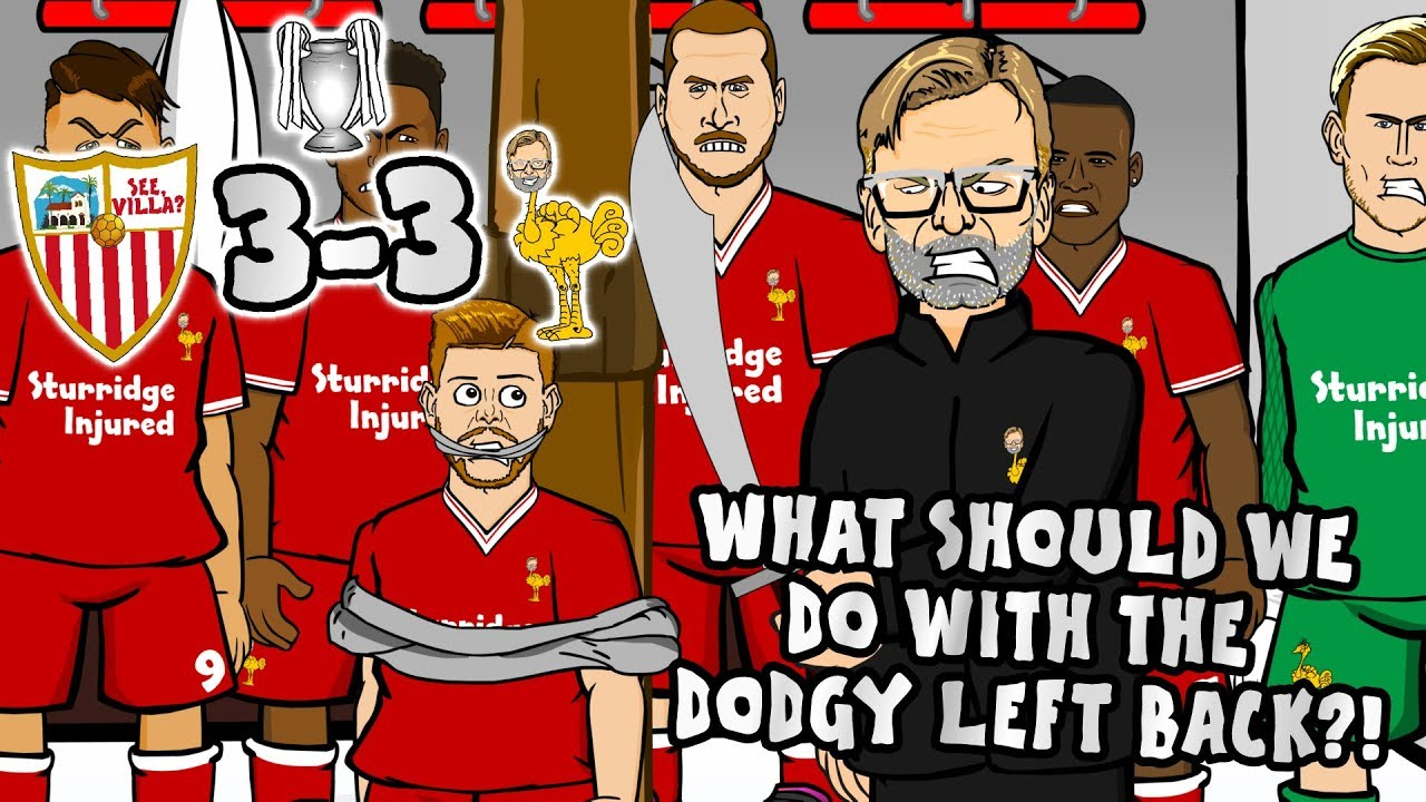 "3--3! SEVILLA vs LIVERPOOL😲""What should we do with the ..."