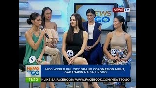 NTG: Miss World Phl 2017 grand coronation night, gaganapin na sa Linggo