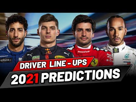 F1 2021 Driver Line Up Predictions