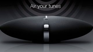 Bowers & Wilkins Zeppelin Air Setting up Demo