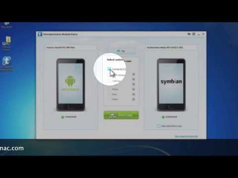 Android to Symbian:How to Transfer data or Contacts from Android Phone to Symbian Phone