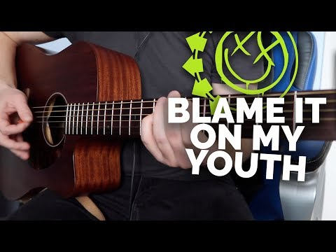 blink-182---blame-it-on-my-youth-(acoustic-cover)