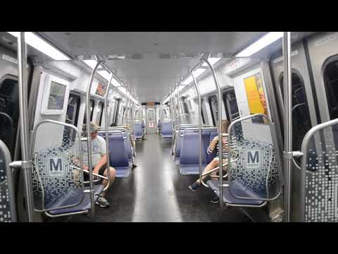 DC Metro: Yl Line Ride King St - Reagan Na Apt (7k Series)